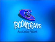 Boomerang logo (Blue Background)
