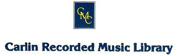 Carlinrecordedmusiclogo1988