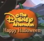 Disney Afternoon Halloween 1991