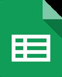 Google Sheets 2012