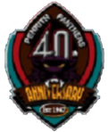 Penrith Panthers 40th Anniversary Logo
