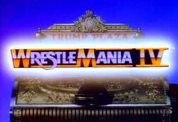 WWFWrestleManiaIV1988logo