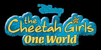 Cheetah girls one world movie logo