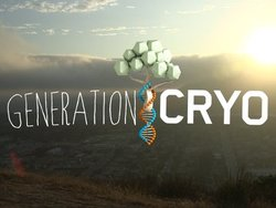 Generation Cryo title screen