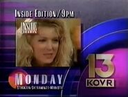 KOVR-TV Channel 13 America's Watching ABC 1991