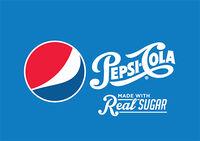 Pepsi Cola Logo 2014 with 2008 logo