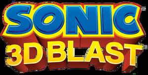 Sonic 3D Blast Logo