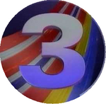 TV3 Denmark logo 1990