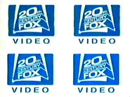 20th Century FOX Video Logo 1982
