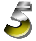 ABC 5 Number 5 Logo 1992
