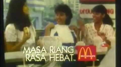 Compilation of McDonald's Malaysia's old commercials (1982-1988)
