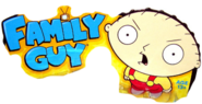 Family Guy toy logo with Stewie Griffin