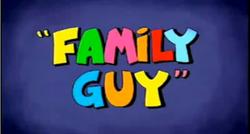Family guy pilot logo
