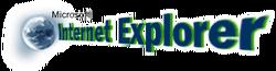 Internet Explorer 1.0 and 2.0 logo