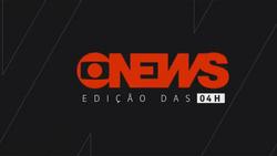 Jornal GloboNews - Edição das 04h 2017