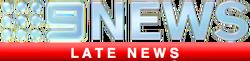 Nine's Late News
