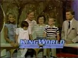 WOF King World logo - 1986a