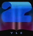 YLE TV2 1990 logo
