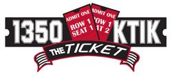 1350 AM KTIK The Ticket