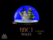 BBC One Wales Christmas 1988 ident