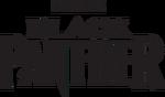 Black Panther Logo Black
