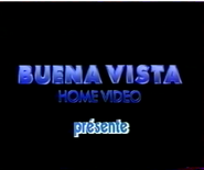 Buena Vista Home Video Presents VHS Logo