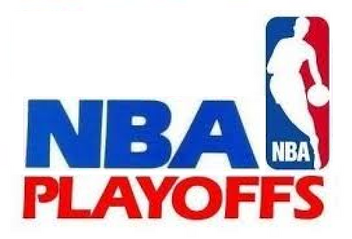 NBA Playoffs logo 1986 1990