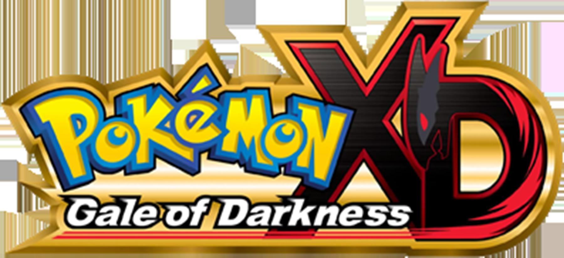 Pokémon XD Gale of Darkness logo