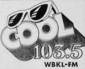 WBKL - Cool 103.5 -February 2, 1991-