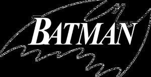 1988 batman comic title logo