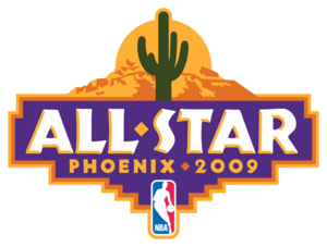 2009 NBA All-Star logo