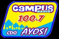 Campus Radio 100.7 Cagayan de Oro Logo 2009