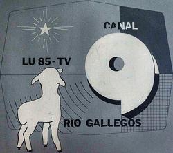 Canal 9 Río Gallegos (Logo 1968)