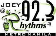 Joey @ Rhythms 92.3 Logo