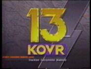 KOVR 13 NEWS OPEN - 1989 - SACRAMENTO, CA