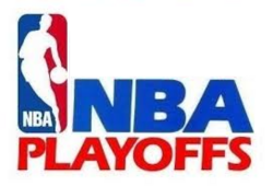 NBA Playoffs logo 1991 1995