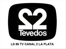 Logo-Tevedos-Ls 86 tv canal 2 la plata