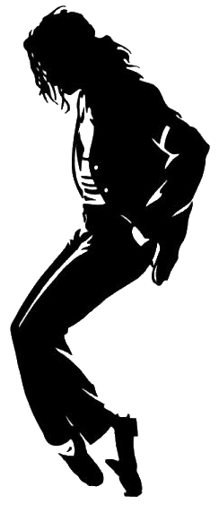 Michael Jackson Black And White Poster SmallPNG