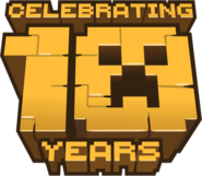 "Minecraft ""Celebrating 10 Years"""
