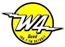 QUAD - 106.7 FM DETROIT - W4