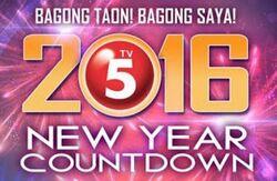 TV5 New Year Countdown 2016