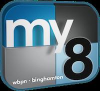 WBPN My8 Binghampton Logo