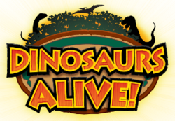 Dinosaurs Alive! logo