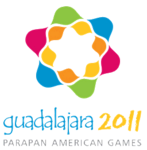 Guadalajara logo for the 2011 Parapan American Games