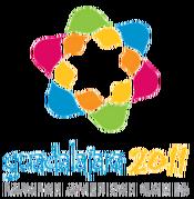 Guadalajara logo for the 2011 Parapan American Games