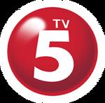 TV5 3D Red Circle (2015-2018)