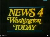 WRCNews4WashingtonTodayOpen Late1960s