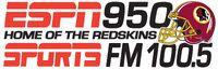 WXGI ESPN 950 AM 100.5 FM