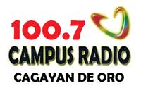 Campus Radio 100.7 Cagayan de Oro Logo 2002