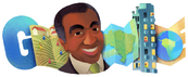 Celebrating Milton Santos (Doodle)